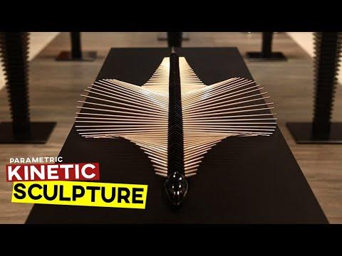 Kinetic Sculpture (Rhino Grasshopper Tutorial)
