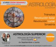 CURSO ZOOM ASTROLOGÍA 2, SUPERIOR