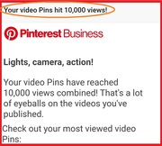 10,000 Views Reached On PINTEREST... https://www.pinterest.com/younggifted1996/