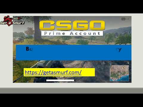 Buy CSGO Prime Accounts at Very Cheap Price with Getasmurf