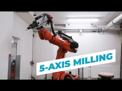 5 Axis Milling with a KUKA Robot