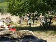 New Stone Wall Around The Garden_