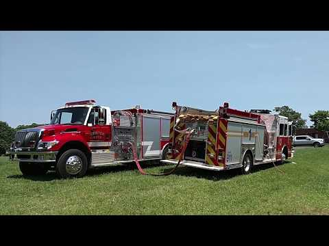 Center Rural, NC Volunteer Fire Department 2018