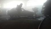 incendio en cochera