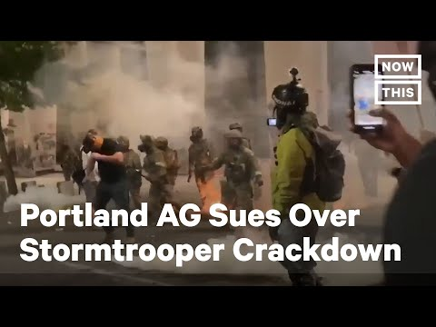 Federal Troops Trump Secret Police violate Portland Citizens Civil Rights