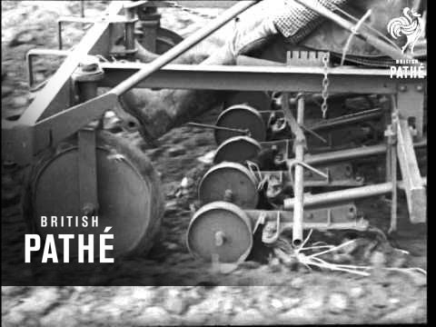 Tractor Demonstration AKA Agricultural Machines For Small (1949)