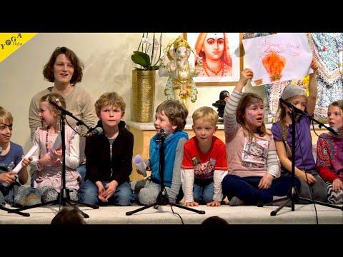 Strong wind, deep water - gesungen von Kindern aus der Ganesha Kinderwelt - Kinder Yoga