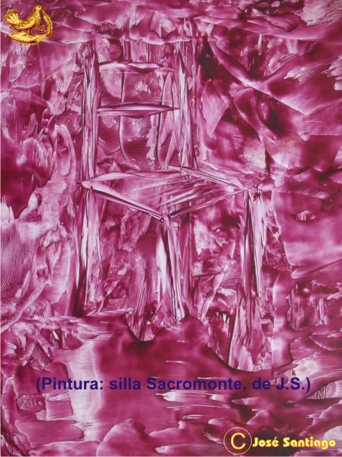 """PINTURA: """"Silla de Sacromnte"""" * Autor José Santiago"""