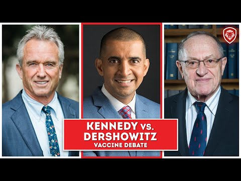 Heated Vaccine Debate - Kennedy Jr. vs Dershowitz