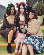 Cessiah Alice Millinery Vintage Styled Shoot 2020