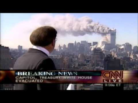 CNN's Aaron Brown at 9:59 AM on 9/11