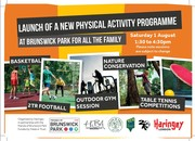 Family fitness in Brunswick Park this Saturday