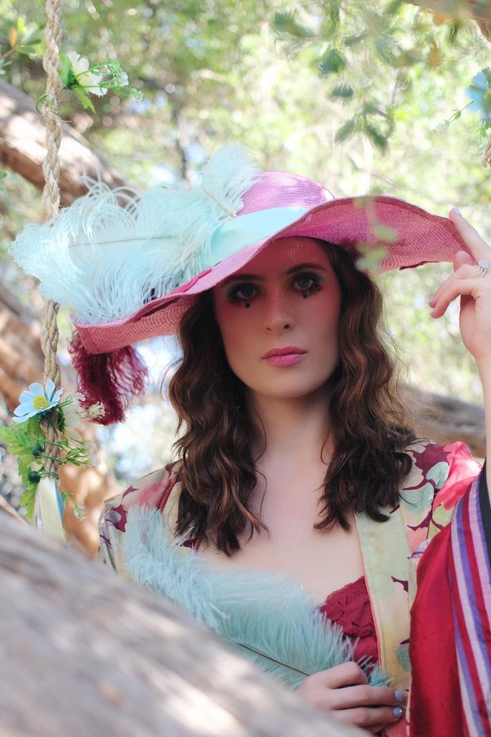 The House Of Hats Wonderland Pink Straw Summer Hat Designer Hats Australia