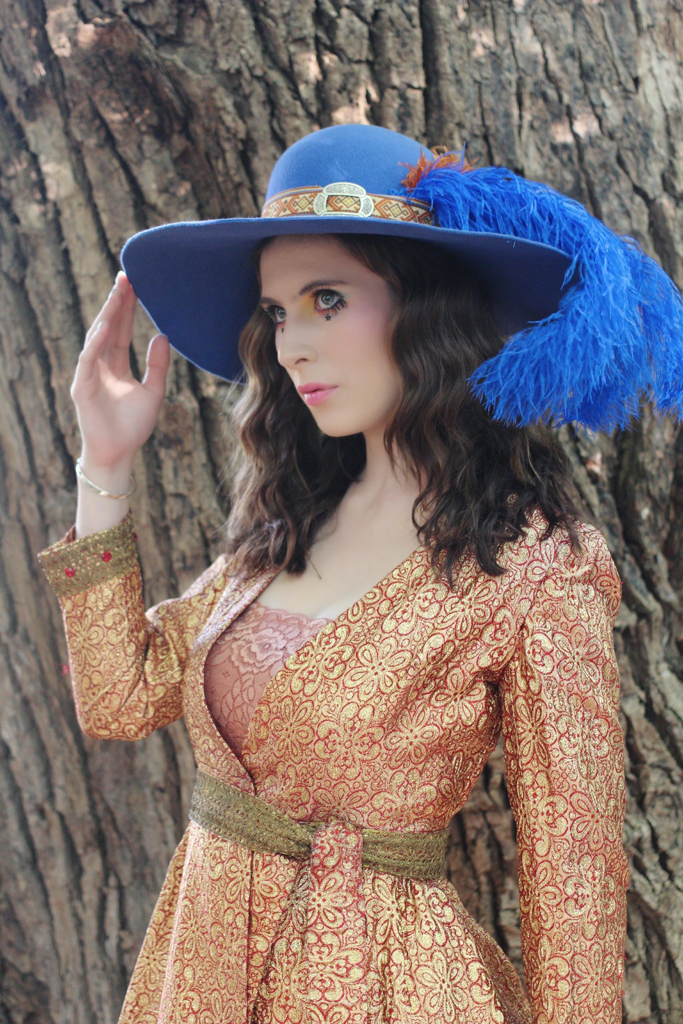 The House Of Hats Faith Blue Hat Womens Winter Hats Australia
