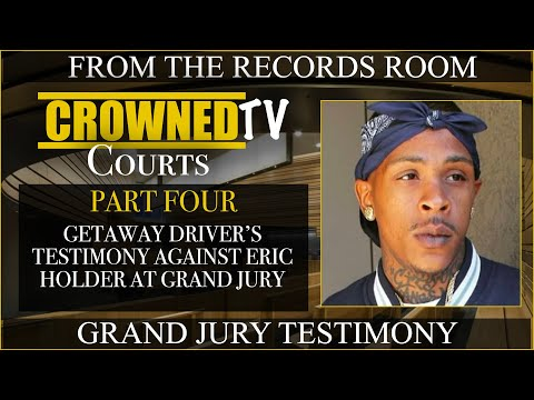 Getaway Driver for Eric holder tells why she turned herself in after Nipsey Hussle incident PT4