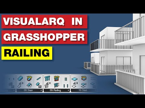 VisualArq Grasshopper Tutorial | Railings