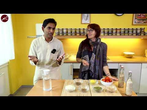 Köstlich ayurvedisch-vegan Kochen - mit Dr. Devendra und Julia Lang - Trailer
