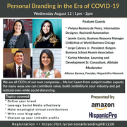 Personal Branding in the Era of COVID-19