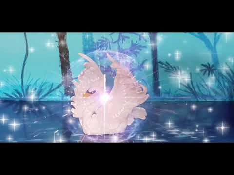 SWAN PRINCESS Odette's transformation (clay animation)