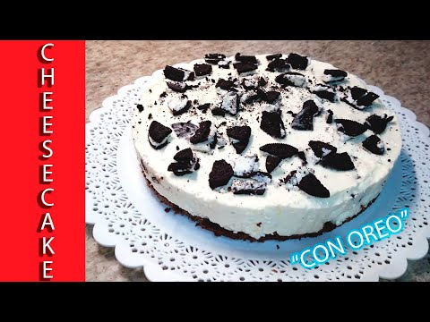 CHEESECAKE de OREO sin horno!  IMPERDIBLE!