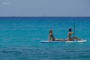 Sup or stand up paddle