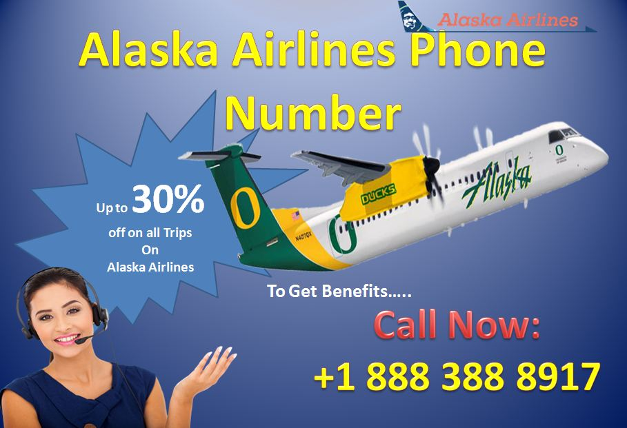 Dial Alaska Airlines Phone Number +1 888 388 8917 to save your money on travel