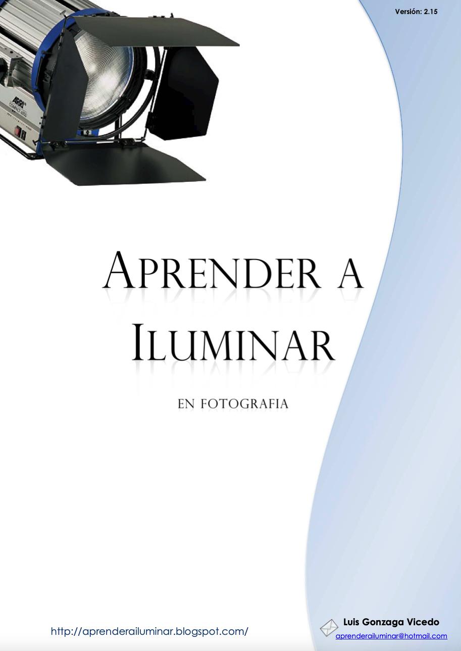 Libro Gratis mes de Agosto. Aprende a Iluminar en fotografía