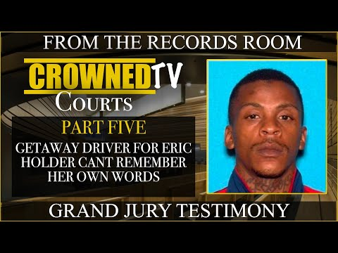 Strange testimony of getaway driver for Eric Holder in Nipsey Hussle case continues PT6
