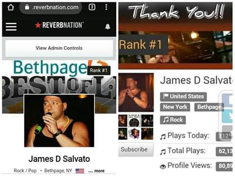What an Honor!! #1 on Two Platforms!!!