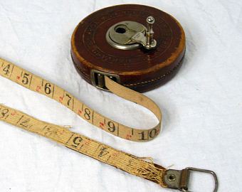 Linen Tape used in land surveying- tape surveying