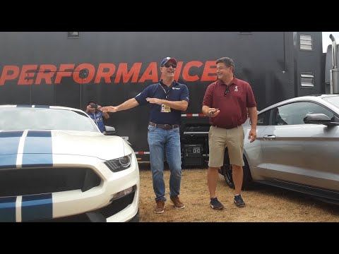 Team Shelby and Ford Performance