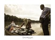 沙巴人文關懷攝影家劉富威《里卡士河漁獲》