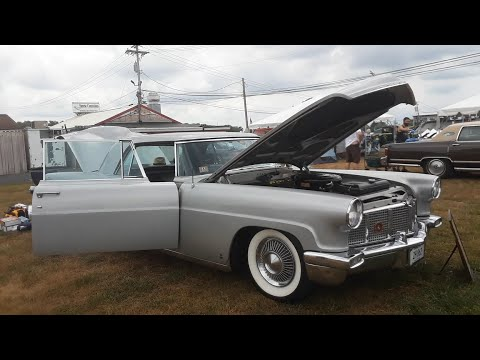 The Ultimate American Luxury Car of 1956 the Continental MkII At the 2020 Ford Nationals Carlisle
