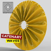 Catenary waves