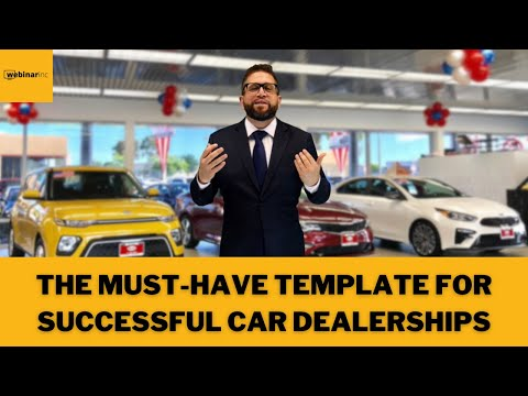 Morning Report From Webinarinc - Daily Tips to Successfully Sell Cars at a Dealership