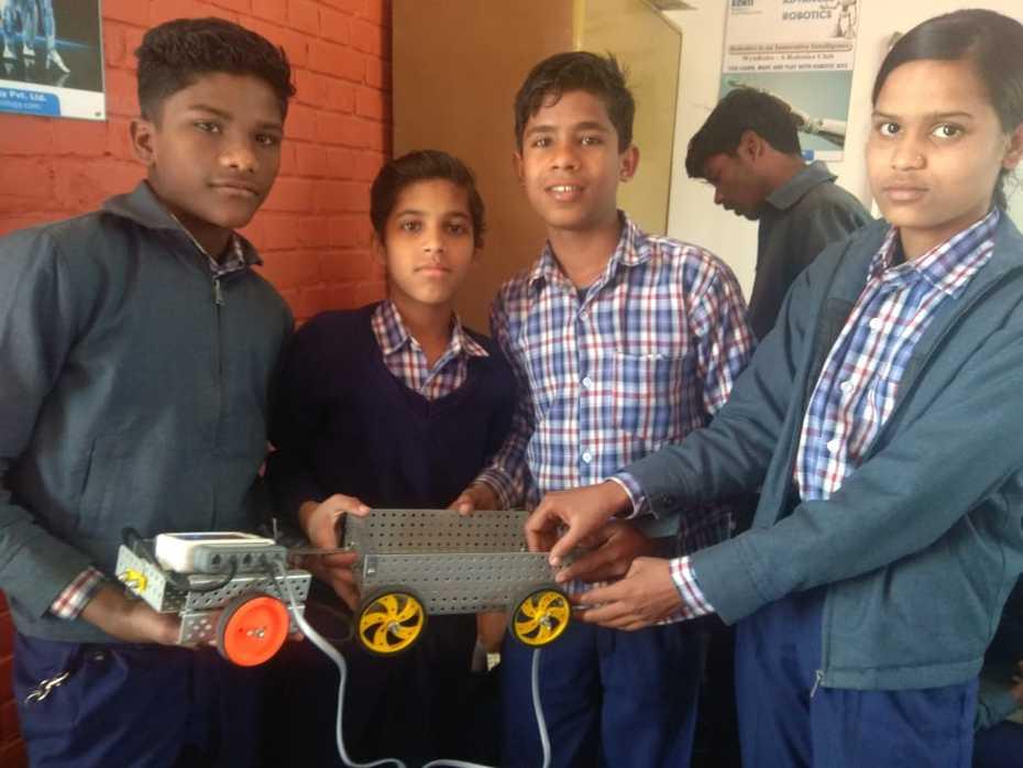 Prakash Deep NGO students