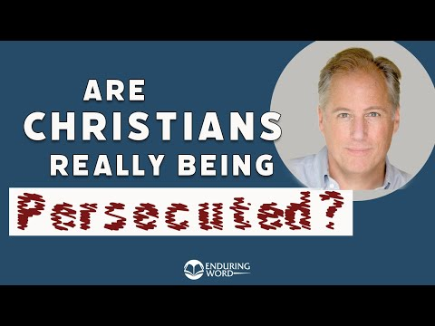 Are Christians Really Being Persecuted?