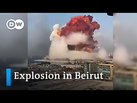 ENORME EXPLOSIÓN EN BEIRUT