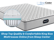 Shop Top Quality & Comfortable King Mattresses Online from Sleep Center