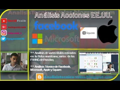 Video Análisis con David Fraile: Facebook, Microsoft, Square y Apple antes de su Split 1 a 4