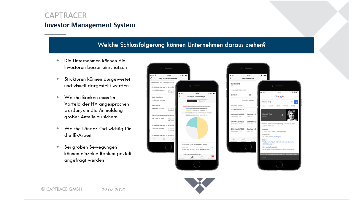 CAPTRACER | Investor Management System