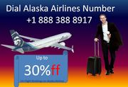 Dial Alaska Airlines Number +1 888 388 8917 to save your money on travel
