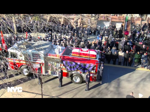 Funeral Service For Firefighter Steven H. Pollard