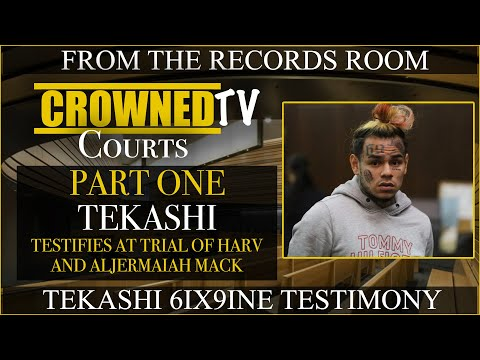 Tekashi 6ix9ine testifies about meeting Shotti and and Seqo Billy for the first time