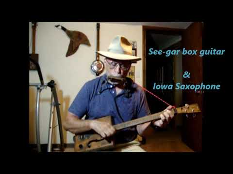 Built For Comfort on cigar box guitar