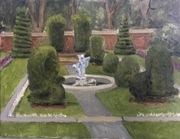 Sunken Garden, Farmleigh, Phoenix Park