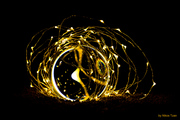 Gold Abstract 8