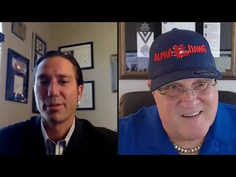 Noel Walsh visits with The Alpha Dawg Jim Ziegler