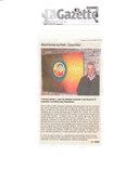 Article La Gazette expo S.Gucciardo à la MPA 2013