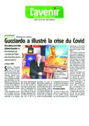 ARTICLE L'AVENIR GUCCIARDO A ILLUSTRE LA CRISE DU COVID 27 JUILLET 2020  MEUSE